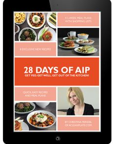 """These recipes arecompliant with the autoimmune protocol as detailed by Dr. Sarah Ballantyne in """"The Paleo Approach"""" and are free of grains, legumes, dairy, non-nutritive oils andsugars, nightshades, eggs, nuts, seeds, alcohol, and coffee."""