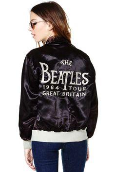Beatles Tour Letterman Jacket