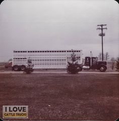 "Thanks and all credits to Ronald Pethick Jr.  ""1972 Kenworth Burts Cattle ranch"""