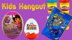 5 Surprise eggs opening blindbags play doh Dora The Explorer Kinder Pixar Cars Kids Hangout toys https://youtu.be/ATPurkcTxkY Other Surprise Egg Videos : 45 ...