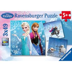 Frozen Puzzle - 3 Puzzles in 1!