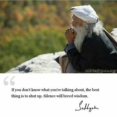 25 Best Sadhguru quotes on medition Spiritual Quotes, Wisdom Quotes, Words Quotes, Wise Words, Quotes To Live By, Positive Quotes, Me Quotes, Motivational Quotes, Inspirational Quotes