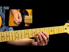 50 Texas Blues Licks - #39 Turn Around - Guitar Lesson - Corey Congilio