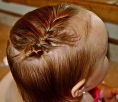 15 Ways To Style Baby/Toddler Girl Hair!