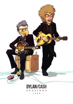 Dylan and Cash – Special Musician Collaboration by Sakiroo Choi #fanart