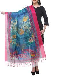 #Multicoloured Printed #Bhagalpuri #Silk #Dupatta at #Indianroots #Diwali #Sale Was $10 | Is  $7 Diwali Sale, Silk Dupatta, Anarkali Suits, Menswear, Saree, Indian, Printed, Stuff To Buy, Shopping