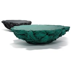 David Gill Rubber Table Green and Black - AP: kinda weird, not sure if I like it… Unique Furniture, Table Furniture, Furniture Design, Plywood Furniture, Chair Design, Coffe Table, Coffee Table Design, Decorative Bowls, Decorative Objects