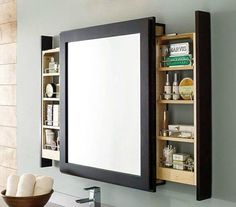 These insanely clever small space solutions for a more efficient space to Make your home feel bigger. Check out these ideas for creating more storage in your small spaces.