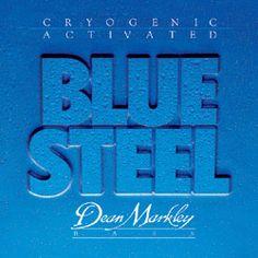 "Jack Casady strings- Dean Markley ""Blue Steel"" strings, round wound. Medium Light. Gauges: E-105; A-80; D-65; G-45."