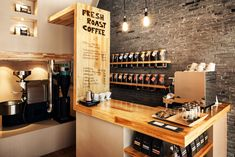 Small cafe design appalling charming apartment fresh on house and cafeteria coffee shop ideas uk . Small Coffee Shop, Coffee Shop Bar, Coffee Bar Home, Best Coffee Shop, Coffee Shops, Coffee Coffee, Coffee Lovers, Coffee Shop Counter, House Coffee