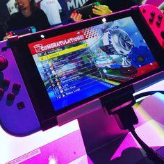 Session de #mariokart8deluxe :) L'écran de la #NintendoSwitch est vraiment top ! #Nintendo #Switch