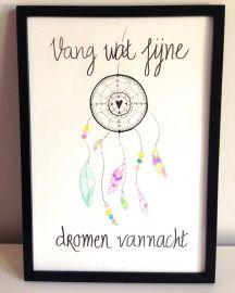 Poster Dromenvanger