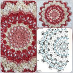 Crochet Circles, Crochet Doily Patterns, Crochet Doilies, Crochet Table Runner, Diy Projects To Try, Crochet Clothes, Bunny, Stitch, Blanket