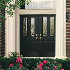 The Therma Tru Smooth Star Twin Half Lite 2 Panel Door Can Be Ordered In