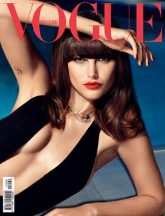 Catherine McNeil | For Vogue Magazine Russia | June 2015