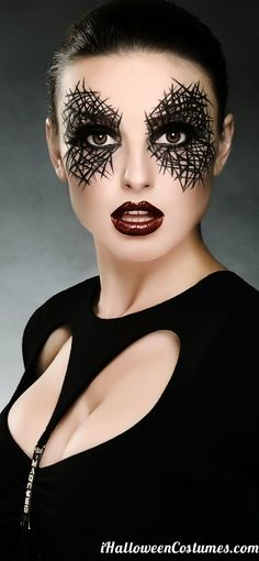 Modern day spider woman.. match this with spider themed tights and a black dress and put web in your hair Check out our sexy spooky sale for your halloween tights needs - 25% off . www.shelbymason.com #bootights #sexyspooky