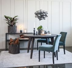 Aalborg, Aarhus, Dining Table, Urban, Wood, Furniture, Home Decor, Products, Decoration Home