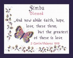 Jessica - Name Blessings Personalized Cross Stitch Design from Joyful Expressions Cross Stitch Charts, Cross Stitch Designs, Cross Stitch Patterns, Aria Name, Jennifer Name, Jessica Name, My Daughter Quotes, Color Kit, Names With Meaning