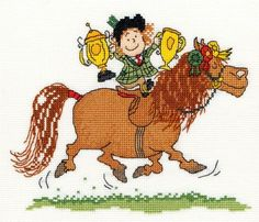 Trophies - Thelwell Cross Stitch