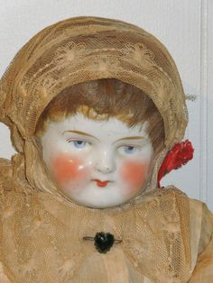 "Antique unique china doll, 23"" long"