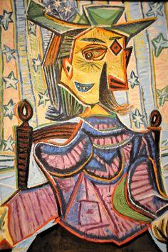 Pablo Picasso, Dora Maar in Armchair, 1939
