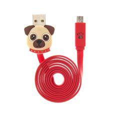 Pug USB Lightening Cable