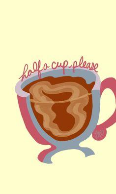 Half a cup, please |