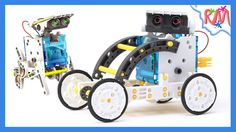 Cool solar powered robot 14-in-1 @ RM Bros