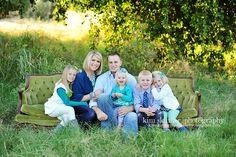 nice family pose