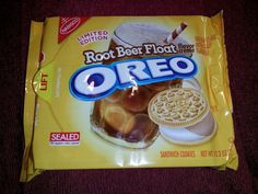 OREO ROOT BEER FLOAT Flavored  Cookies 12.2 Oz LIMITED EDITION     FAST SHIPPING #Nabisco