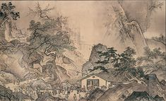 Landscapes of the Four Seasons by Sesshu: National Treasure, Japan