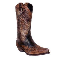 Sendra 9669 brown Western Boots #Sendra #CowboyWestern