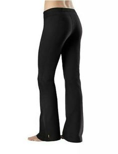 Lucy Powermax Hatha Collection Womens Size S Black Yoga Pants Straight Leg Yoga Pants For Work, Grey Yoga Pants, Yoga Dress, Dress Pants, Black Yoga, Athletic Wear, Black Nylons, Pants For Women, How To Wear