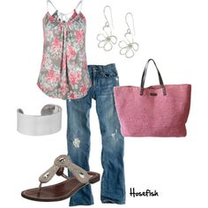 Flowerz, created by hosefish on Polyvore