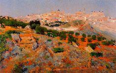 Η Καστίλλη του Ουναμούνο.. Religious Paintings, Painter Artist, Contemporary Abstract Art, Paul Cezanne, National Museum, Landscape Paintings, Landscape Photography, Cities, Nature