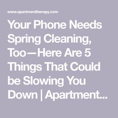 Your Phone Needs Spring Cleaning TooHere Are 5 Things That Could be Slowing You Down Elektroniken Cleaning Phone Slowing Spring TooHere Iphone Life Hacks, Cell Phone Hacks, Smartphone Hacks, Iphone Information, Iphone Secrets, Ipad Hacks, Computer Help, Computer Tips, Social Networks