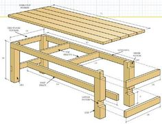 Outdoor table plan ( perfect for party's) I have wanted one for my ...