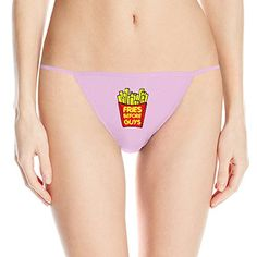 aaf59a8f06a39 Amazon.com  LunaCp Fries Before Guys Sexy Lingerie L Pink For Women   Clothing