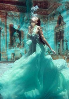 """I love the color, the """"floating"""" of time that is captured, the calm """"dance"""" opposing what I would imagine as chaotic"""