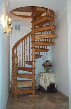 Diseños de Escaleras en Espiral