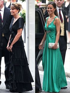 CAROLE AND PIPPA MIDDLETON | Royal Wedding