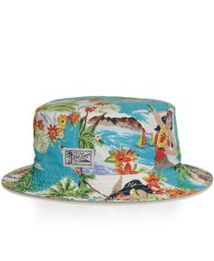 3fbc9e03149 Polo ralph lauren Reversible Bucket Hat in Multicolor for Men ... Bucket Hats  For