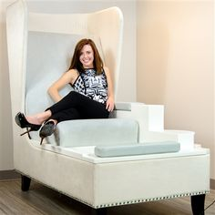 Blue Label is the first and only Pedicure Spa that transcends equipment and enters into the realm of fine furniture and hospitality with the most sophisticated pedicure seating and integrated foot bath on the market today.