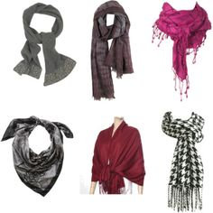 How to wear a scarf (in many ways!)