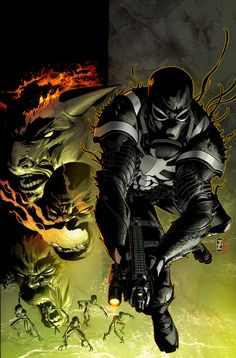 ! I am loving these series of covers for Venom! They are dark and creepy, and i like all things dark and creepy. I also like fluffy kittens. Awesome art by Patch Zircher and coloring by me! I've be...