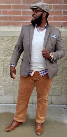 Fashion tips plus size men - conseil mode homme grande taill Mens Fashion Summer Outfits, Mens Fashion Blazer, Big Men Fashion, Big Guy Summer Fashion, Fashion Fashion, Sweat Shirt, T Shirt Polo, Big And Tall Style, Plus Size Men