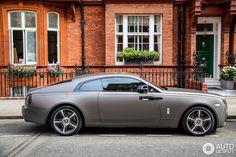 Rolls-Royce Wraith  Love the color