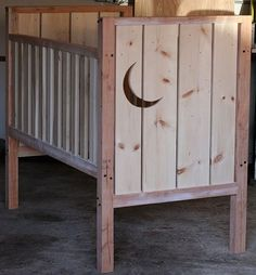 While his pregnant wife Michela was out of town, Ohdeedoh reader Christian decided to surprise her with a completed crib upon her return