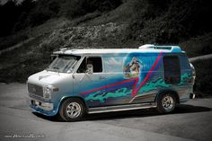 Custom vans | Custom Van I by ~AmericanMuscle on deviantART