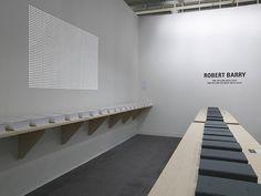 Robert Barry Art Basel 2008